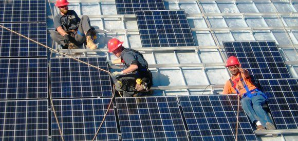 home builders - solar energy installation
