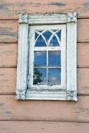 Old wood window picture