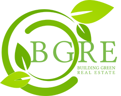 Building Green Real Estate Logo