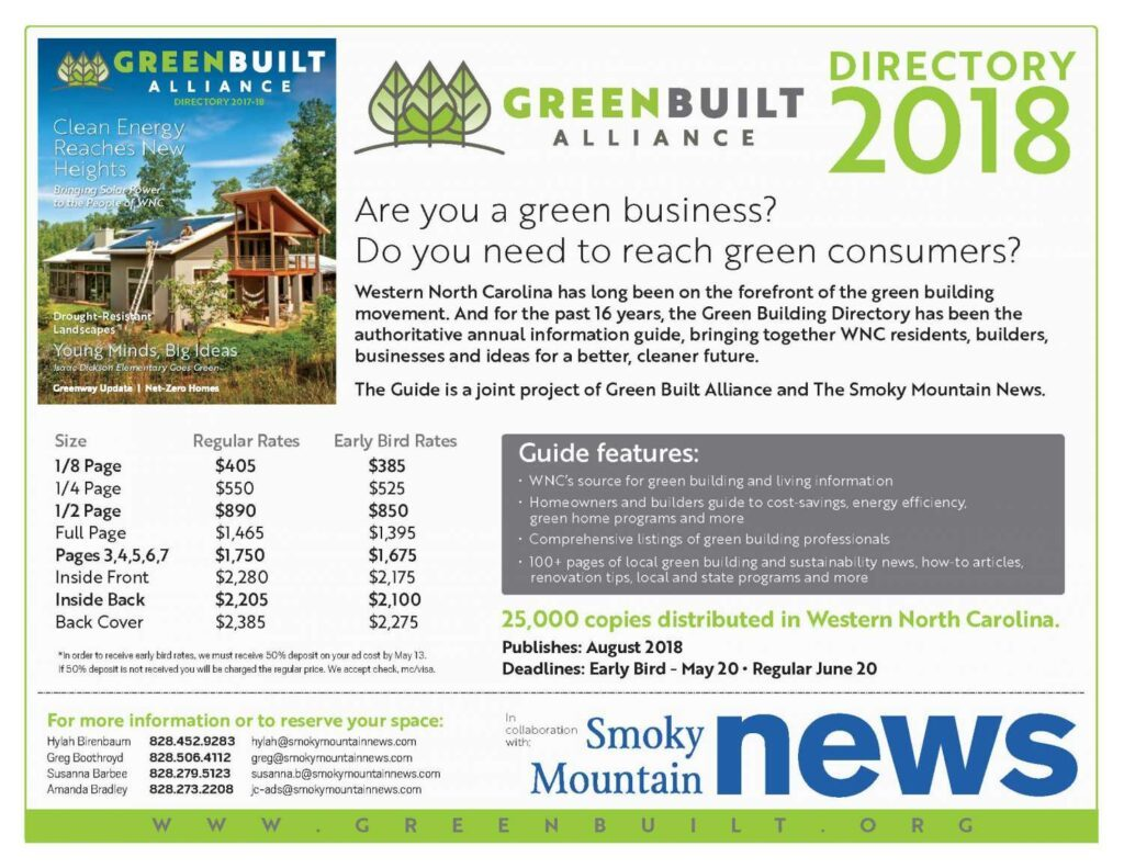 Share Your Projects and Expertise in 2018 Green Building Directory ...