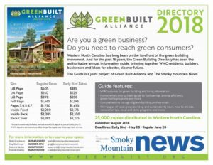 advertising information green building directory smoky mountain news