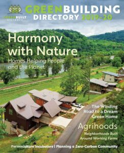 Green Building Directory 2019 Green Built Alliance cover magazine