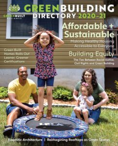 Green Building Directory 2020-21 Cover