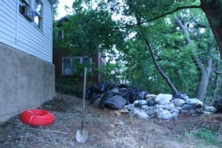 Picture of compost water heater site