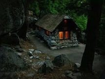 Picture of small, stone building