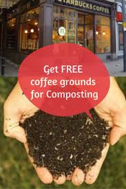 Coffee grounds for compost water heating