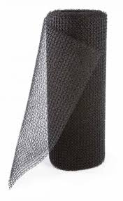 Picture of a roll of 3d plastic mesh