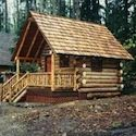 Small log cabin picture