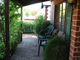 Picture of covered porch with good shade